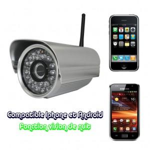 caméra IP extérieure Camcast 600