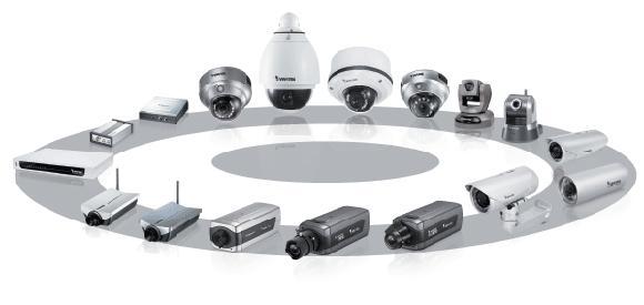 les différents types de cameras de video surveillance
