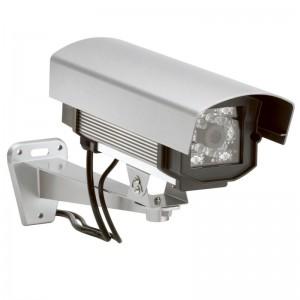 La cam ra factice pour la s curit de votre domicile - Fausse camera de surveillance exterieur ...